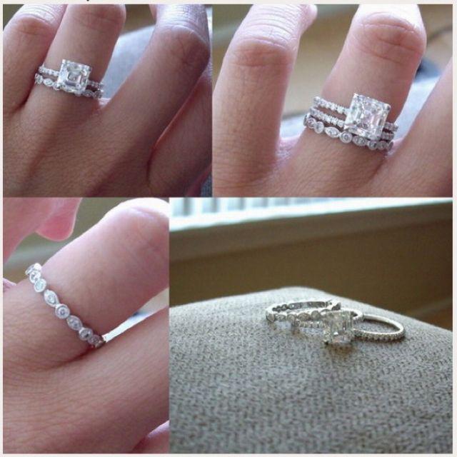 "Promise ring. Engagement ring. Wedding ring. ""I promise. I will. I do"""