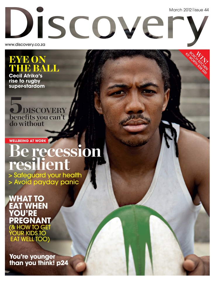 Discovery - March 2012  #MagazineCover