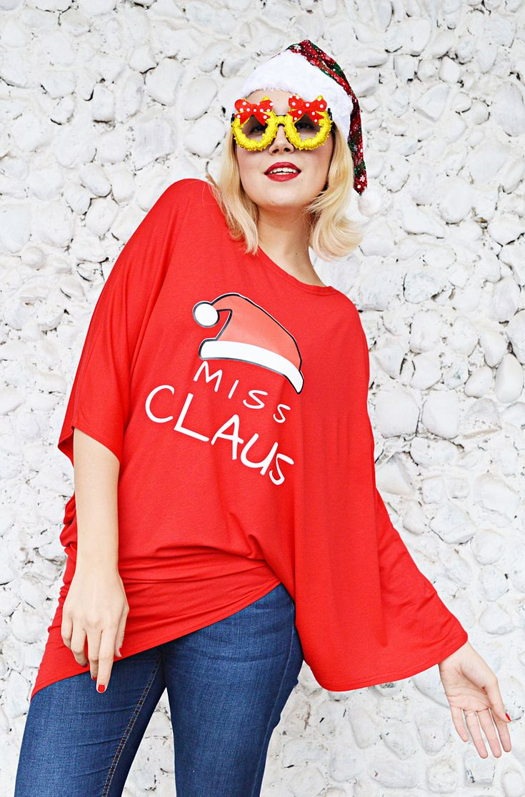 Christmas Top, Miss Claus Shirt, Christmas Blouse, Couple Shirts, Holiday Tops, Red Tunic TT128 by TEYXO https://www.etsy.com/listing/575184639/christmas-top-miss-claus-shirt-christmas?utm_campaign=crowdfire&utm_content=crowdfire&utm_medium=social&utm_source=pinterest
