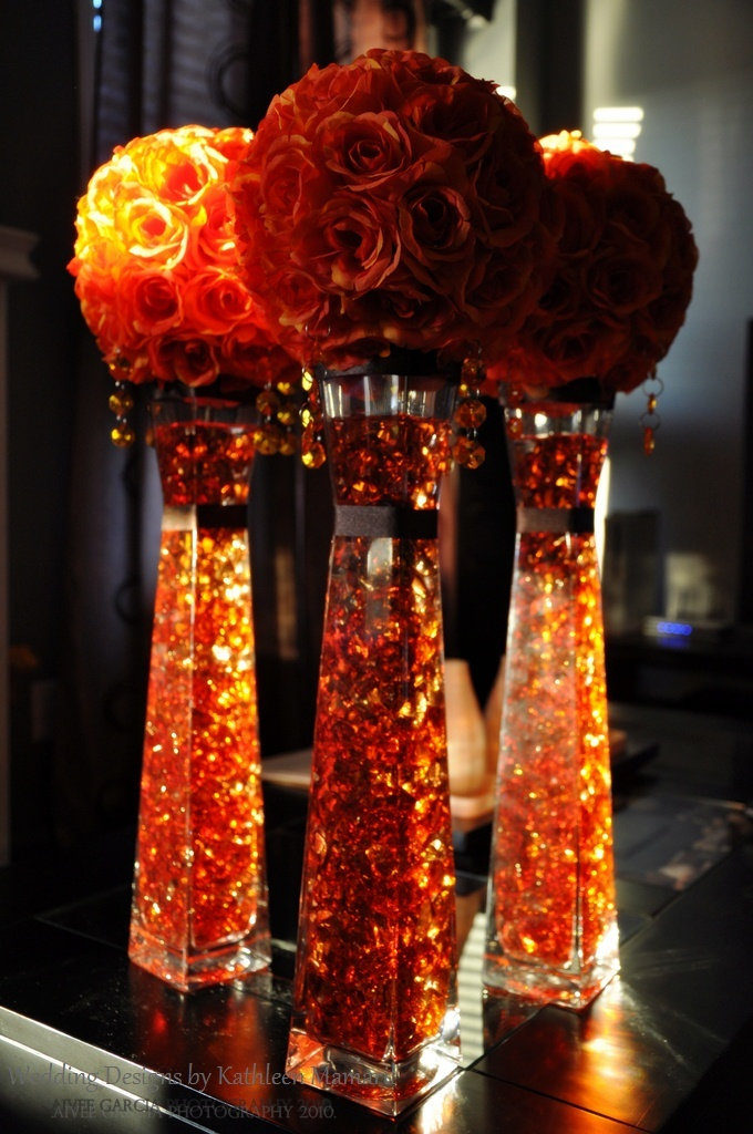 Orange Motif  Wedding designs by Kathleen Mamaril  Photography by Aivee Garcia