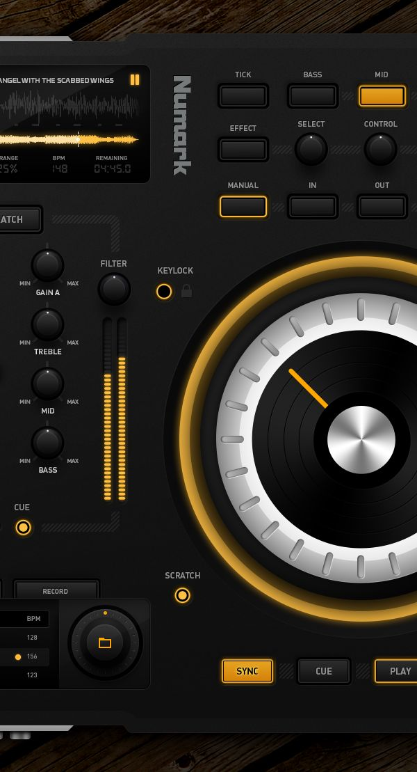 DJ Midi Controller by Emile Rohlandt, via Behance