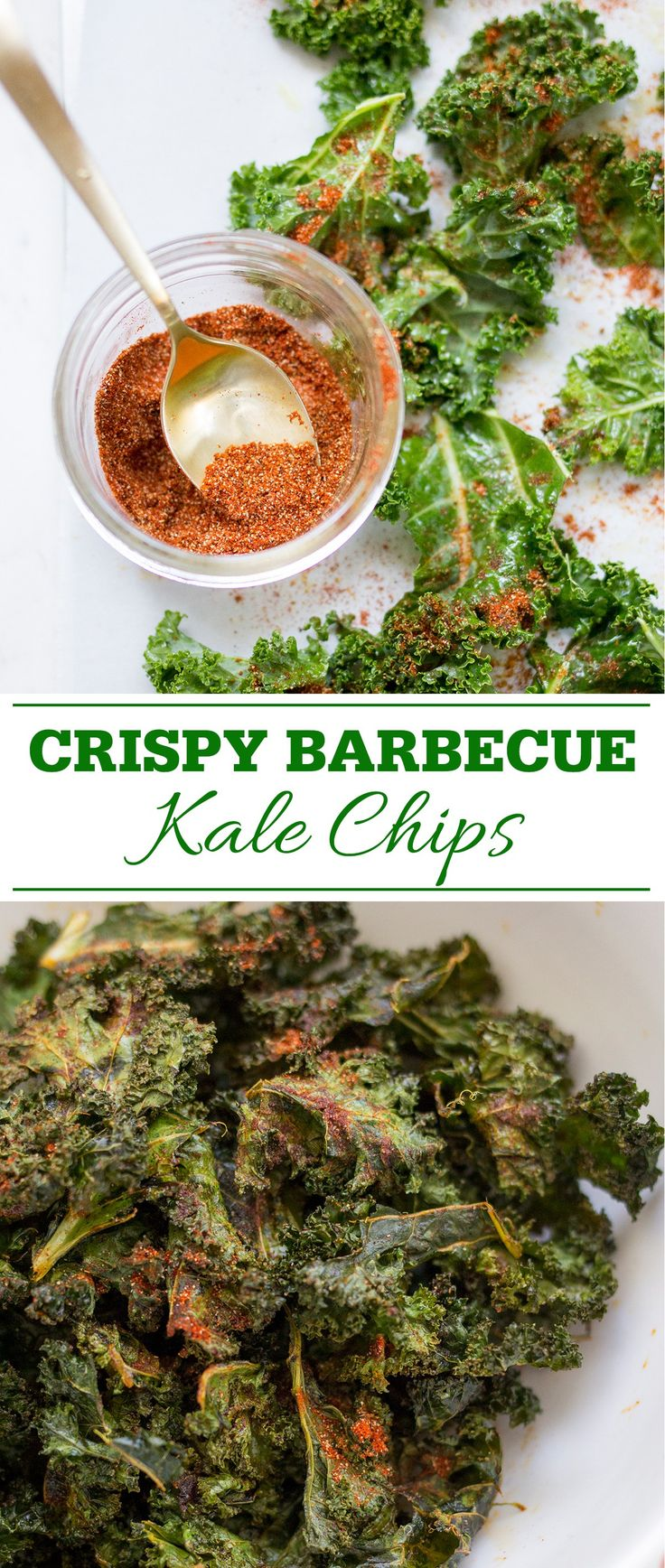 How to make extra Crispy Barbecue Kale Chips
