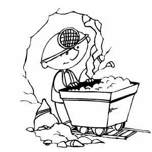 klondike gold rush coloring pages - photo#17
