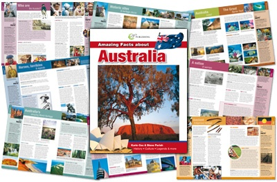 LOTS of information for Australia!  pdf downloads for wildlife conservation, early explorers, early settlers, deadly animals, marine life, mammals, birds, reptiles, insects, and native plants