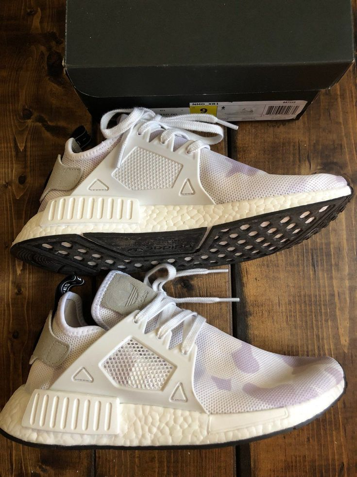 Men Adidas NMD white duck camo, size 9. Bought new only worn once. Still in new like condition.