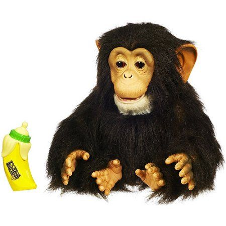 Furreal Friends Cuddle Chimp Fur Real Monkey Interactive Animal Plush Pet