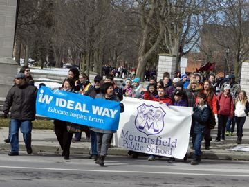 Ideal Way leads the Walk of Inclusion at Victoria Park, London, ON.