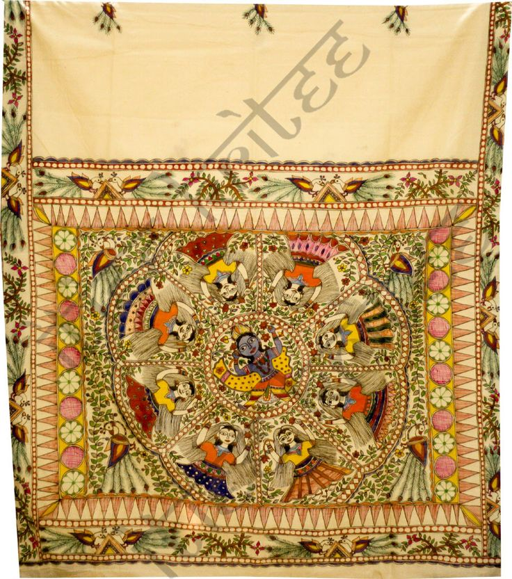Madhubani Sarees Sample. For Full Range Visit- www.itieekritee.com