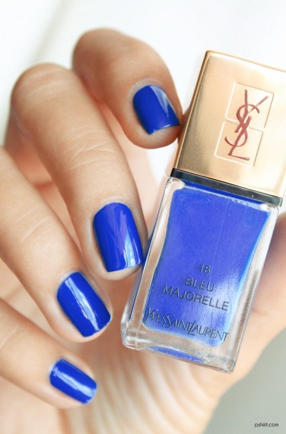 YSL ~ Bleu Majorelle.