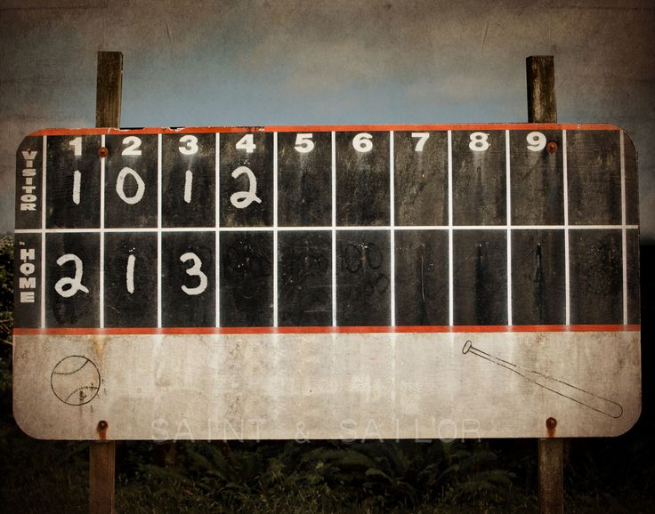 Best 25 Baseball Scoreboard Ideas On Pinterest