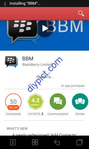 Android: Cara Instal Aplikasi BBM | Tutorial Bergambar