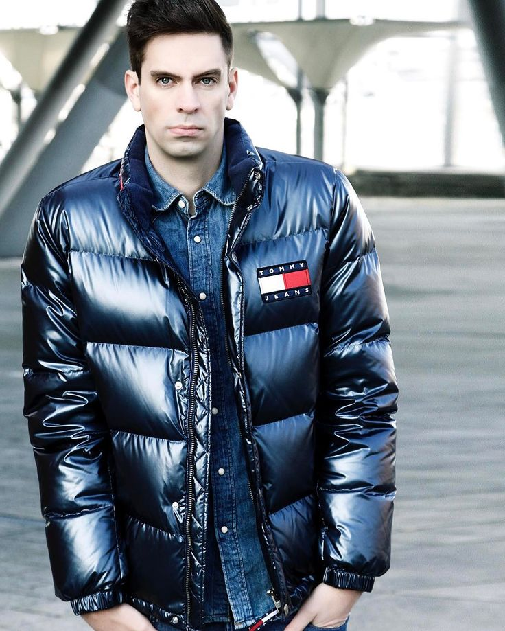 daunenjacke down jacket downjacket shiny fetish tommy hilfiger denim jackets pinterest. Black Bedroom Furniture Sets. Home Design Ideas