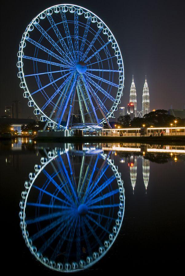 Eye on Malaysia Ferris Wheel. Kuala Lumpur, Malaysia