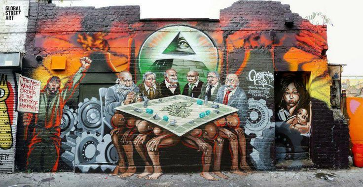 Illuminati Graffiti | Art of Street | Pinterest