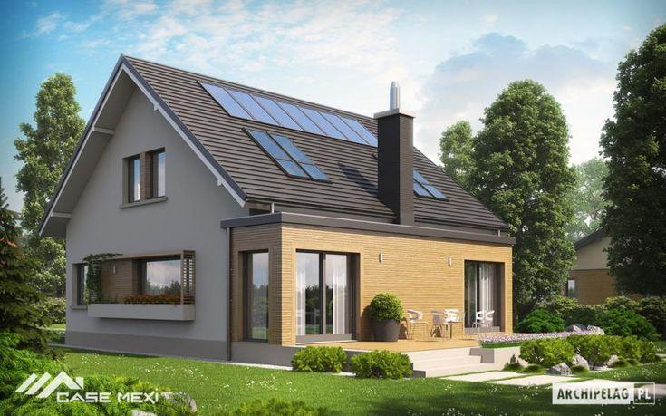 Casele cu mansarda are un volum de aer mai mic decat cele cu etaj, se poate incalzi mai bine si mai repede astfel se economiseste bani pe timpul sezonului rece.