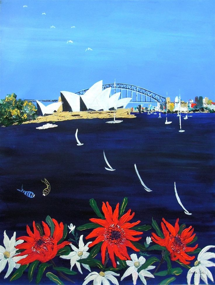From Mrs. Macquarie's Chair – Acrylic on paper PLATFORMstore