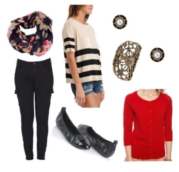 How to Wear Skinny Cargo Pants - 2 Easy Outfit Ideas - College Fashion