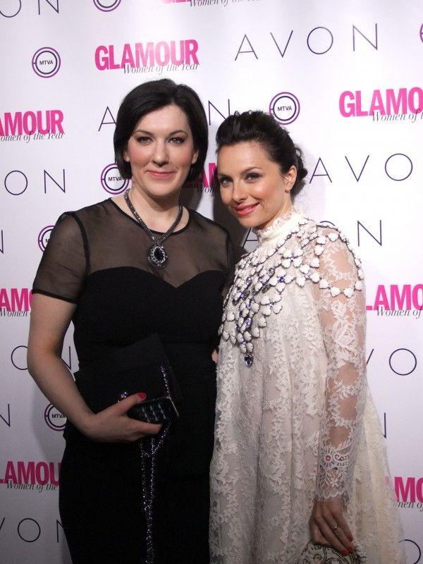 Zséda és Maróy Krisztina a Glamour magazin főszerkesztője (Glamour Women of the Year 2014) Fotó: Vásárhelyi Dávid - Hír7
