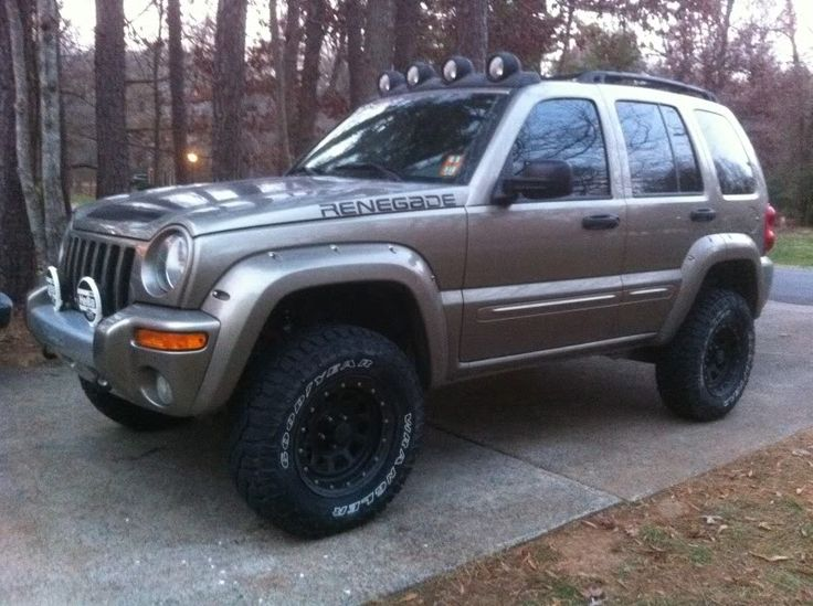 2008 Jeep Liberty Exhaust FloMaster 03' Renegade. Front