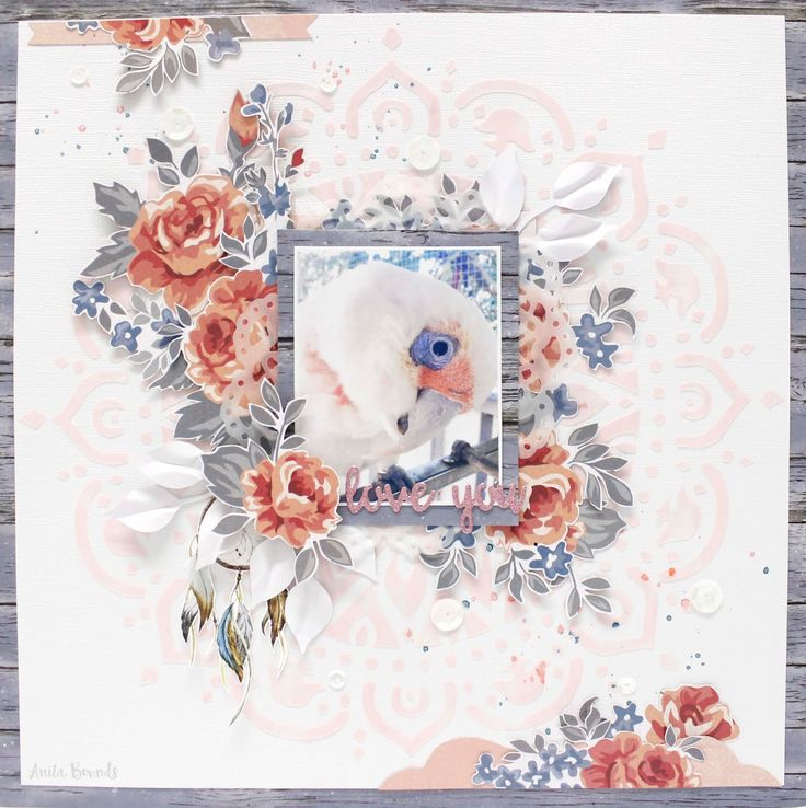Hi Anita here with you today sharing some creations I've made for June Are you just loving the new collections I know I am they are just fabulous I'm starting of with a layout of my bea…