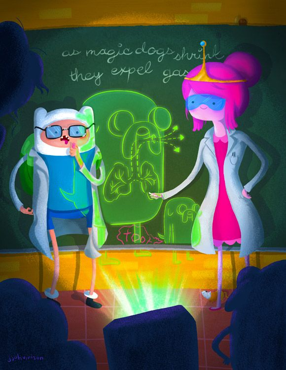 Adventure Time Science