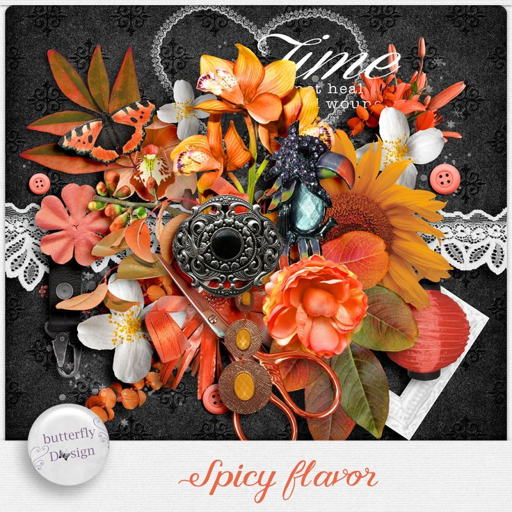 Personal Use :: Kits :: Spicy Flavor [Mini kit] by butterflyDsign