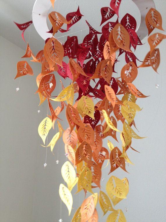Autumn Foliage by DragonOnTheFly on Etsy, $45.00
