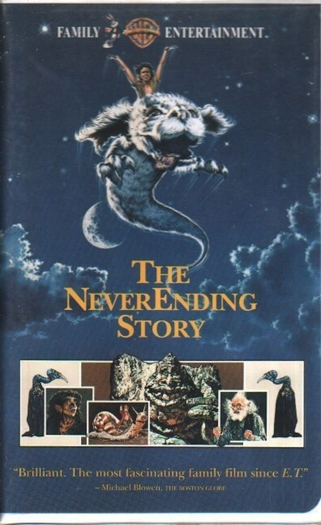 The Never Ending Story | 35 VHS Movies Every Kid Watched Growing Up