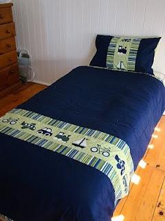 Big boy bedding