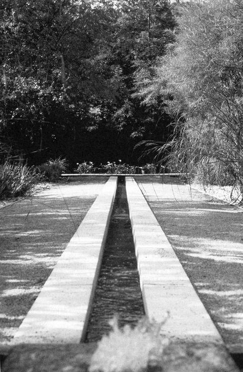 Gilles Clément: Jardin du Riverel, Valoires, 1989