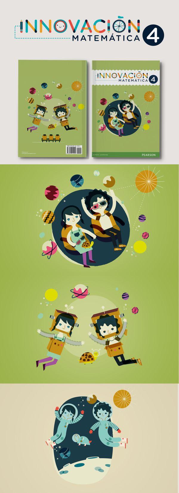 Innovación Matemática 4 by Cherry Bomb Design Studio, via Behance