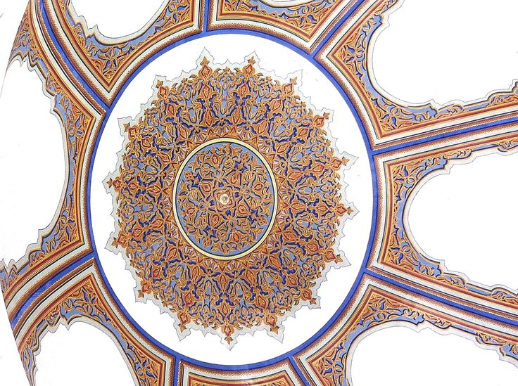Ceiling in a home at Trabzon