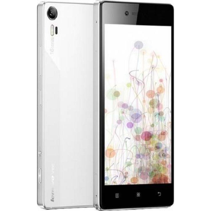 Smartphone Lenovo Vibe Shot Dual Sim 32 GB 4G White - Neoplaza.ro