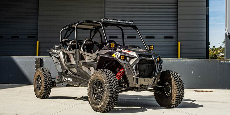 New Baja Designs KTM Headlight Kits and Polaris RZR Roof