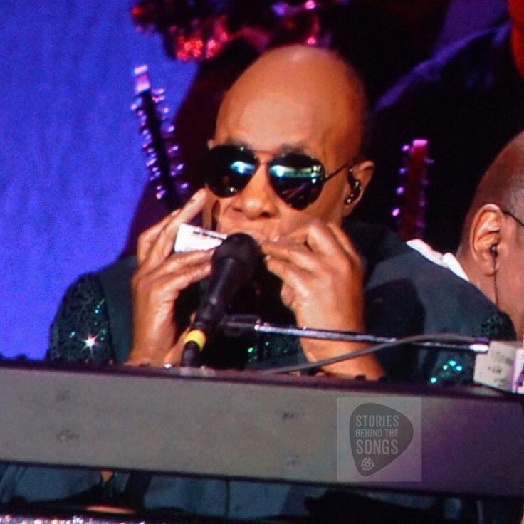 Stevie Wonder on the Songs In The Key Of Life tour in Toronto.#SBTSLive #StevieWonder #soul #harmonica #livemusic #concert