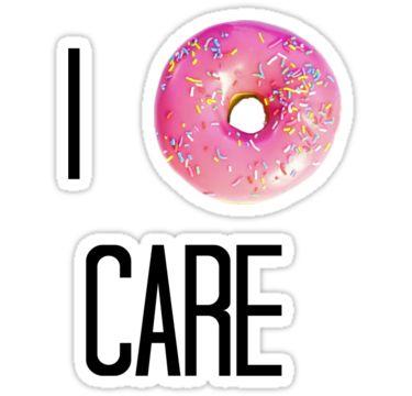 donut care transparent tumblr overlays - I love that pic