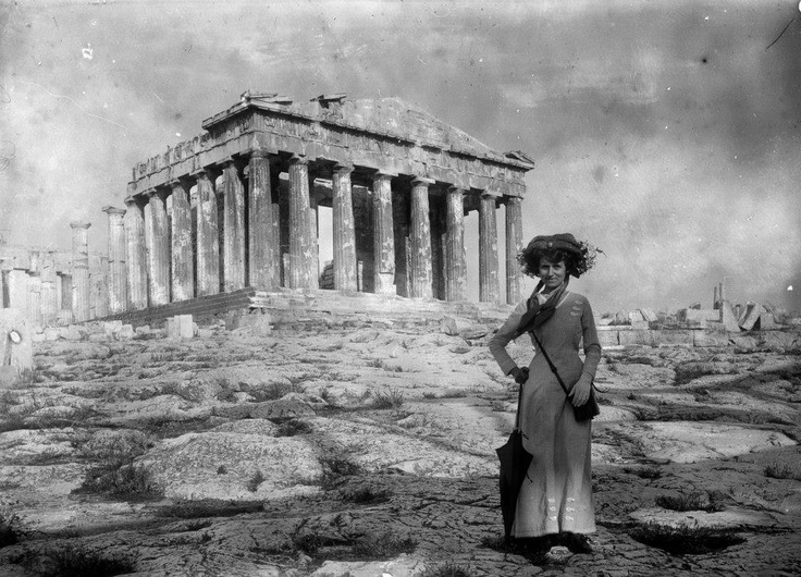 Αthens, Parthenon, 1905