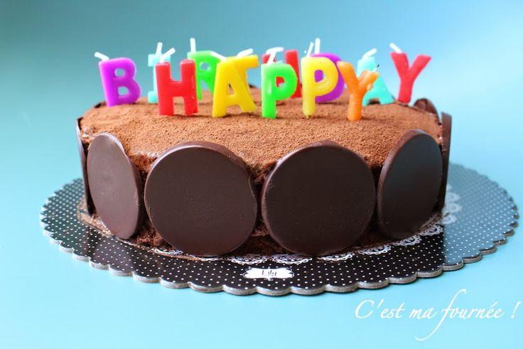 C'est ma fournée !: Le gâteau d'anniversaire double chocolat