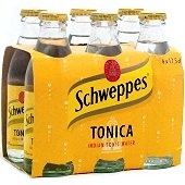 Tonic Schweppes...with lemon and ice!