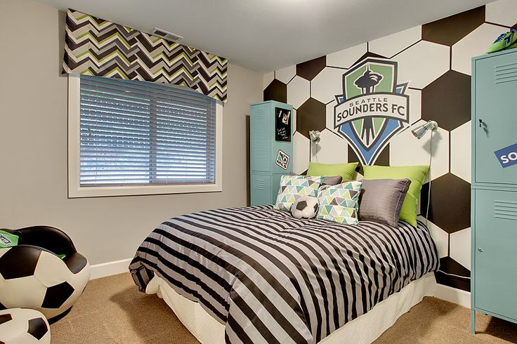 Sounders FC Bedroom at Spirit Ridge by Lennar!