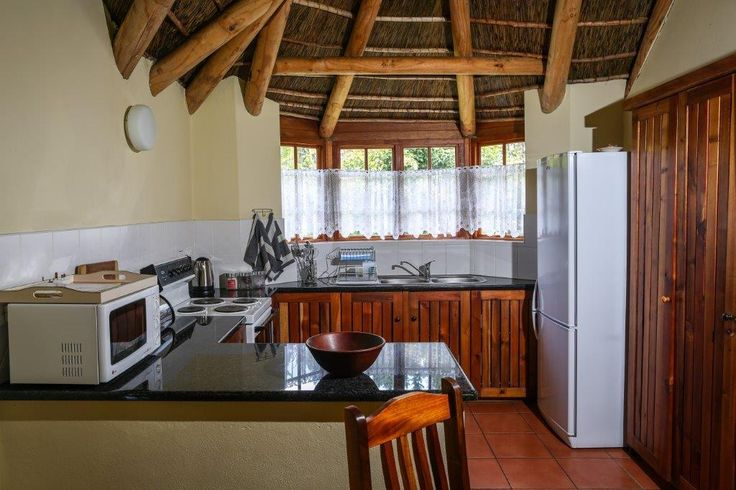 Well appointed kitchen at Coral Tree Cottages