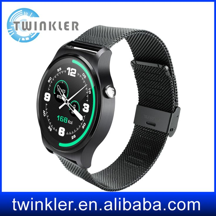 Round screen Smart Watch With Heart Rate Monitor And Waterproof Watch For apple ios And Android Outdoor Sport Watch