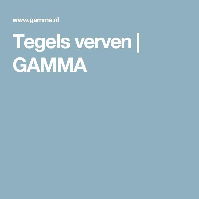 Tegels verven | GAMMA