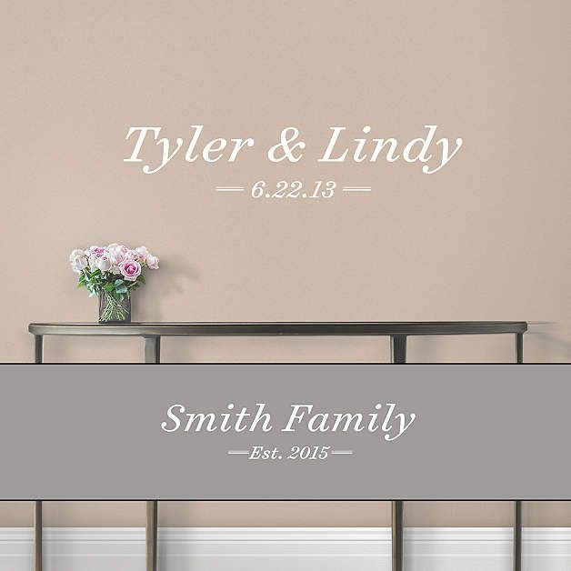 Personalized Home Labels - Traditional Wall Decal | Shop Fathead® for Wall Art Décor