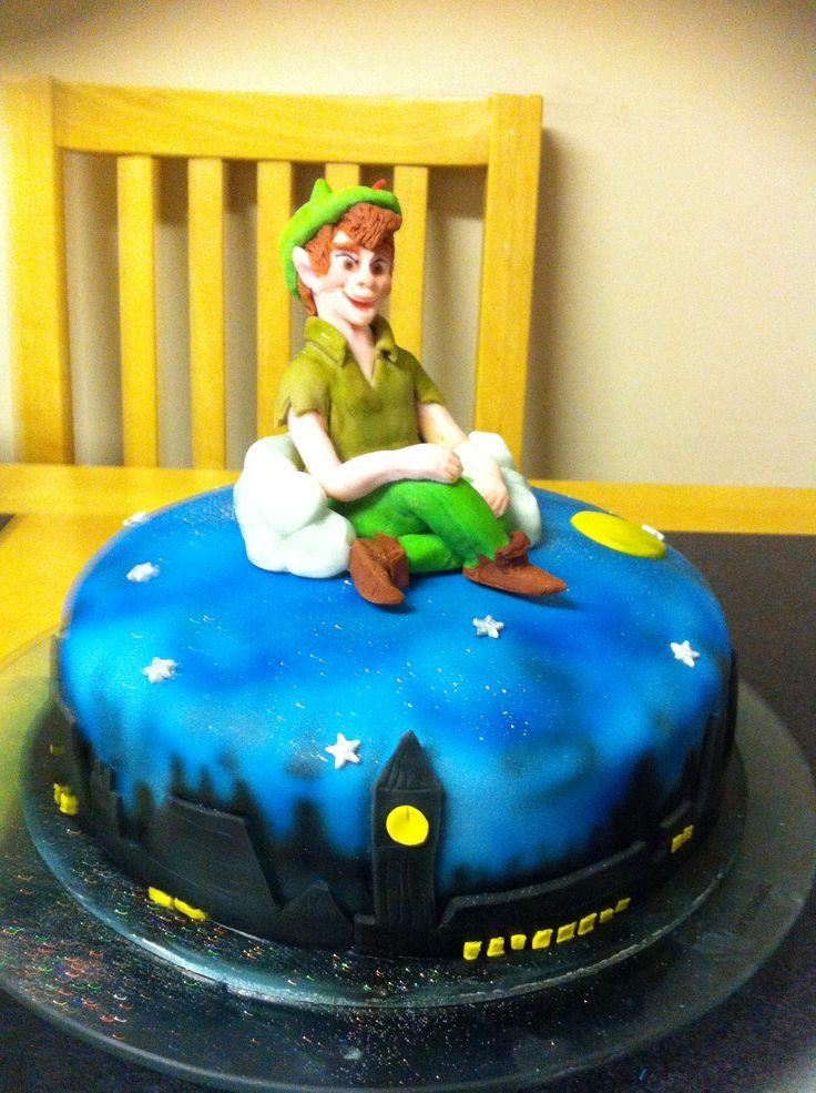 Peter Pan Cake This Pan Is Kinda Scary Lol Cake Ideas