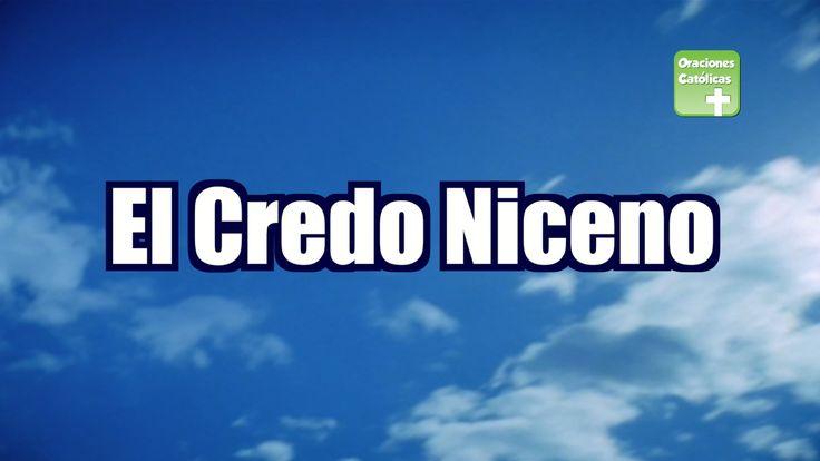 Credo Niceno, ideal para escuchar todos los días. #ElCredo #ElCredoNiceno #CredoNiceno #OracionesCatólicas
