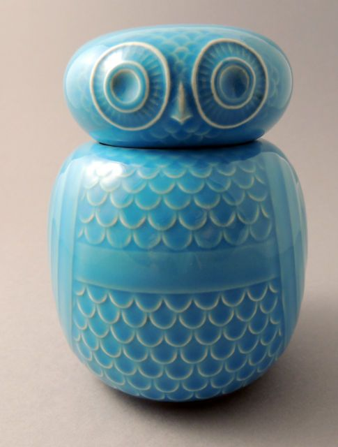 Vintage Hornsea Pottery Owl Storage Jar by John Clappison | eBay                                                                                                                                                                                 More