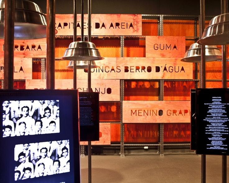 Exposição em São Paulo celebra o centenário de Jorge Amado- Museu da lingua portuguesa- Cenógrafa Daniela Thomas