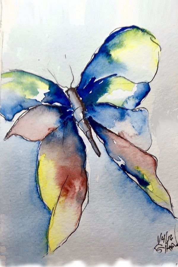 Easy Watercolor Painting Ideas Watercolor Paintings Easy