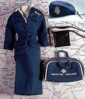 Vintage Barbie American Airlines Stewardess